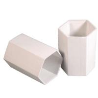 Stiftebecher hexagonal aus Pappe, Stifteköcher 1 Stück