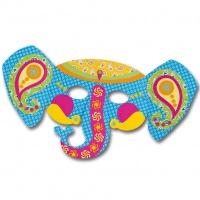 Kindermasken Elefant 6er Pack